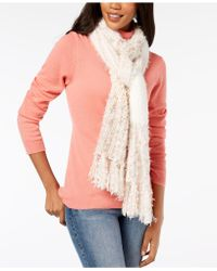 INC International Concepts - I.n.c. Mixed Yarns Colorblocked Fringe Scarf, Created For Macy's - Lyst