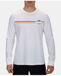 Hurley - Old School Graphic T-shirt - Lyst