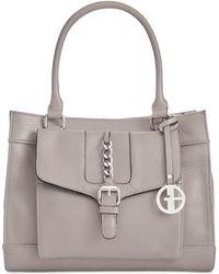 Giani Bernini - Pebble Leather Satchel, Created For Macy's - Lyst