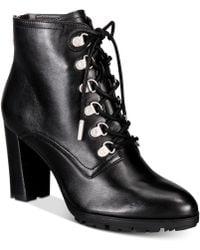 Adrienne Vittadini - Thad Ankle Boot - Lyst