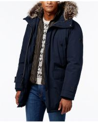 Michael Kors - Hooded Insulated Snorkel Coat - Lyst