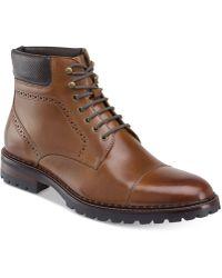 Johnston & Murphy - Men's Jennings Cap-toe Boots - Lyst