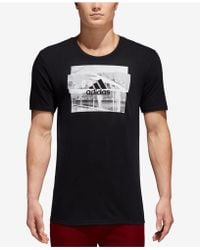 adidas - Photo-graphic Soccer T-shirt - Lyst