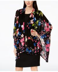 INC International Concepts - Vibrant Floral Cape, Created For Macy's - Lyst
