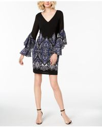 INC International Concepts - Ruffle-sleeve Shift Dress, Created For Macy's - Lyst