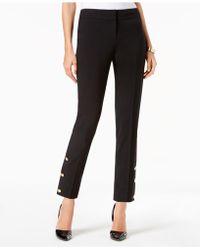 Nine West - Embellished Slim-leg Pants - Lyst