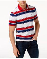 Tommy Hilfiger - Ricky Striped Slim Fit Polo - Lyst