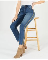 Style & Co. - Petite Curvy Side-stripe Skinny Jeans, Created For Macy's - Lyst