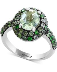 Effy Collection - Multi-gemstone Oval Ring (2-9/10 Ct. T.w.) In Sterling Silver - Lyst