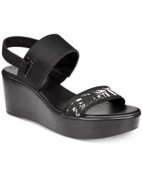 Alfani | Maybell Platform Wedge Sandals, Created For Macy's | Lyst