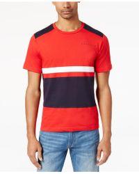 Sean John   Men's Pieced Colorblocked T-shirt   Lyst