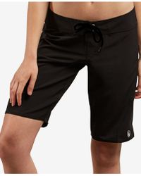 """Volcom - Simply Solid 11"""" Boardshorts - Lyst"""