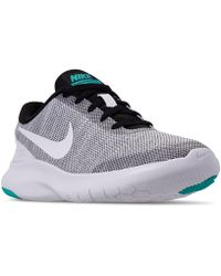 3cd78fb5b9fa Lyst - Nike Women s Free 5.0 Tr Fit 4 Training Sneakers From Finish ...