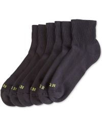 Hue - Women's Mini Crew 6 Pack Socks - Lyst