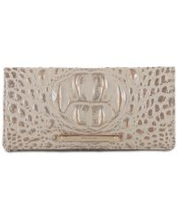 Brahmin - Ady Melbourne Embossed Leather Wallet - Lyst