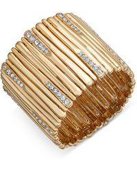INC International Concepts - Pavé Stick Stretch Bracelet - Lyst