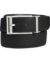 CALVIN KLEIN 205W39NYC - Men's Leather Stitched Casual Belt - Lyst