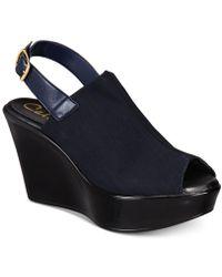 Callisto - Breakdown Platform Wedge Sandals, Created For Macy's - Lyst