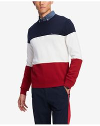 Tommy Hilfiger - Colorblocked Sweater, Created For Macy's - Lyst