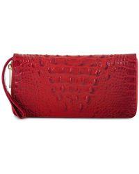 Brahmin - Melbourne Skyler Embossed Leather Wallet - Lyst