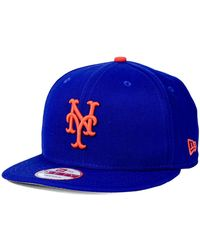 8d1c69c1a18 Lyst - Ktz Kids New York Mets 9fifty Snapback Cap in Blue for Men