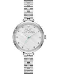 Kate Spade - Women's Holland Stainless Steel Bracelet Watch 34mm - Lyst