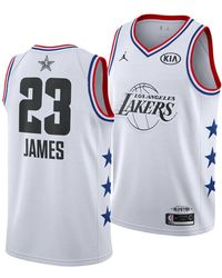 Nike - Lebron James Los Angeles Lakers All-star Swingman Jersey - Lyst ffd96188c