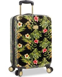 """Tommy Bahama - Phuket Floral Printed 20"""" Carry-on Expandable Hardside Spinner Suitcase - Lyst"""