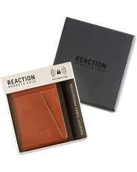 Kenneth Cole Reaction - Men's Kevin Front-pocket Rfid Wallet - Lyst