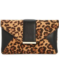INC International Concepts - I.n.c. Leopard-print Luci Clutch, Created For Macy's - Lyst