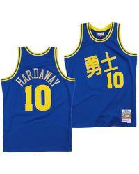 58672acf0b78 Mitchell   Ness - Tim Hardaway Golden State Warriors Chinese New Year  Swingman Jersey - Lyst