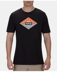 Hurley - Equator Premium Graphic T-shirt - Lyst