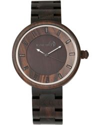 Earth Wood - Branch Wood Bracelet Watch Brown 45mm - Lyst