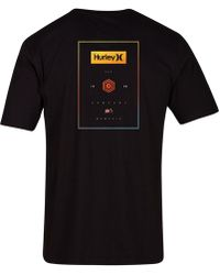 Hurley - Stack Boxes Graphic T-shirt - Lyst