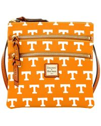 Dooney & Bourke - Tennessee Volunteers Triple-zip Crossbody Bag - Lyst