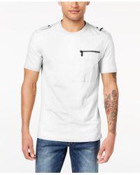30654a5b8e2c Lyst - Sean John Jungle V-Neck T-Shirt in Purple for Men