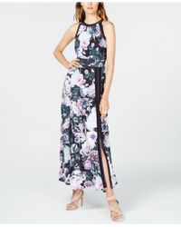 INC International Concepts - I.n.c. Petite Printed Halter Maxi Dress, Created For Macy's - Lyst