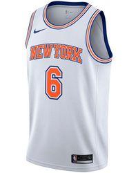 040a39c4 Nike - Kristaps Porzingis New York Knicks Statement Swingman Jersey - Lyst