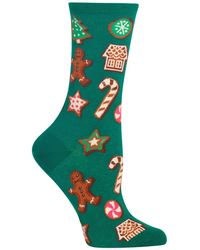 Hot Sox - Decorative Cookies Crew Socks - Lyst
