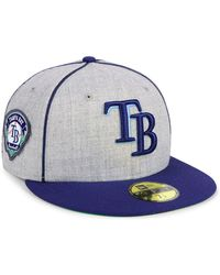 hot sale online 9143f 2c387 KTZ Tampa Bay Rays Low Crown Ac Performance 59fifty Cap in Blue for Men -  Lyst