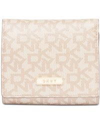 DKNY - Bryant Signature Trifold Wallet, Created For Macy's - Lyst