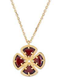 """Macy's - Sky Blue Topaz Clover Pendant Necklace (3-5/8 Ct. T.w.) In Sterling Silver, 16"""" + 1"""" - Lyst"""