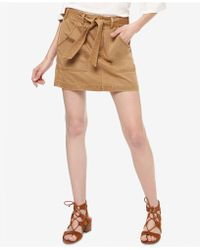 Sanctuary - Belted Utility Skirt - Lyst