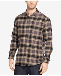 G.H.BASS - Face Bull Twill Over Shirt - Lyst