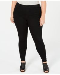 Style & Co. - Plus Size Black Jeggings, Created For Macy's - Lyst