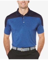 PGA TOUR - Men's Colorblocked Golf Polo - Lyst