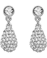 Swarovski - Earrings, Heloise Crystal Teardrop Earrings - Lyst