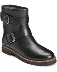 Aerosoles - Independence Moto Boots - Lyst