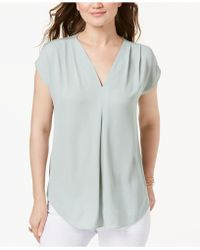 INC International Concepts - I.n.c. Petite Pleated Top, Created For Macy's - Lyst