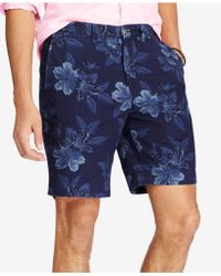 Polo Ralph Lauren - Classic Fit Chambray Shorts - Lyst